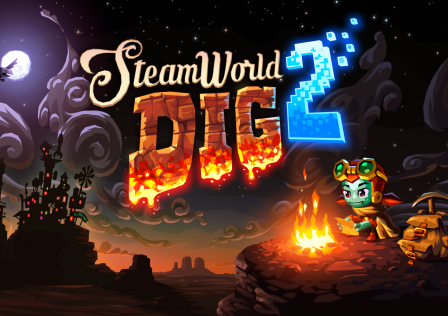 SteamWorld-Dig-2-Wallpaper-4K