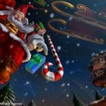Santa Claus llega a Fight of Gods para repartir golpes
